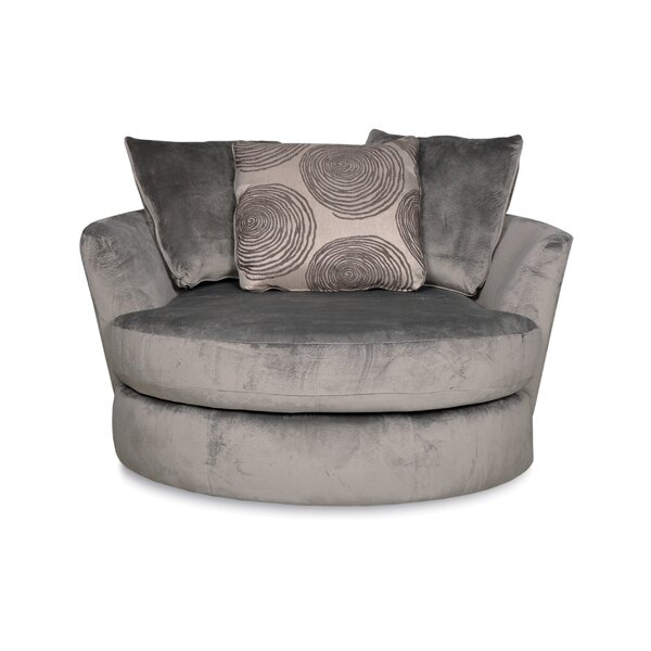 Round Oversized Swivel Chair Wayfair