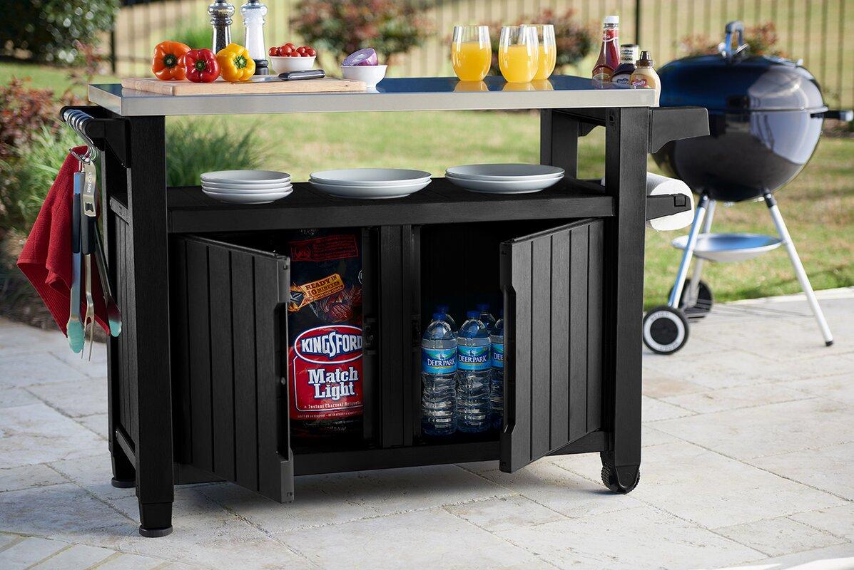 cambron caster bar serving cart reviews birch lane. Black Bedroom Furniture Sets. Home Design Ideas