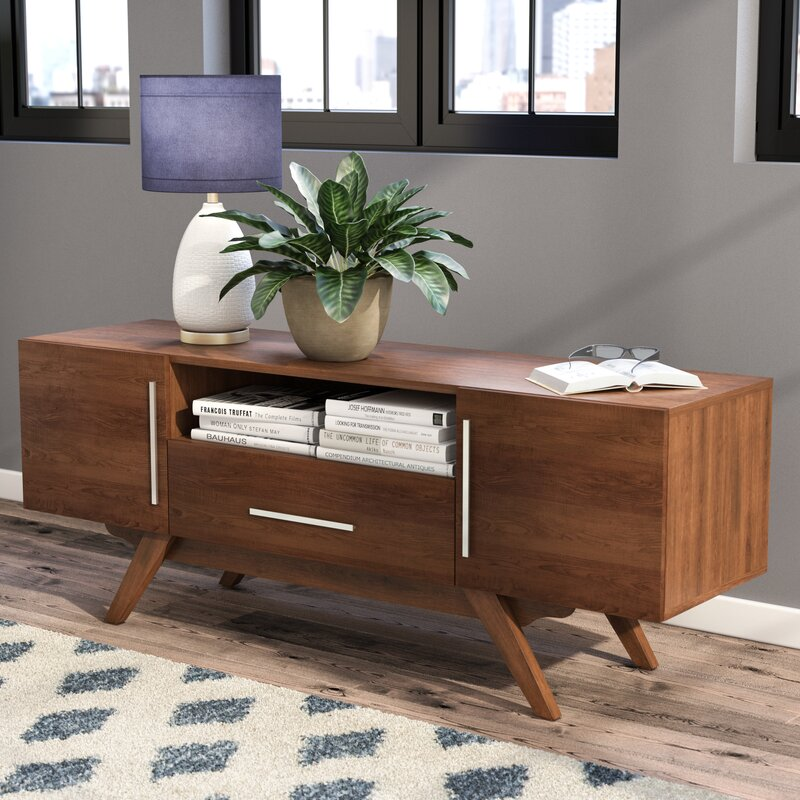 Wade Logan Barclay TV Stand for TVs up to 58\