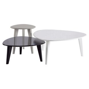3 piece coffee table set wayfair co uk