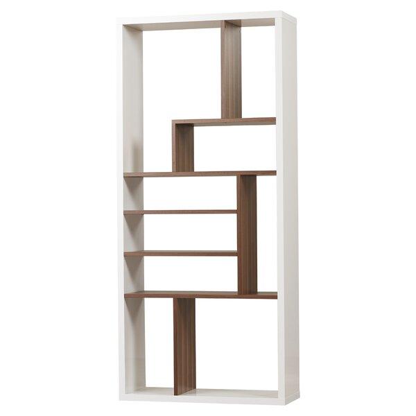 modern bookcases allmodern - Real Wood Bookshelves