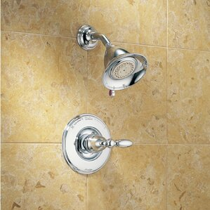 Victorian Dual Function Shower Faucet Trim With Lever Handle