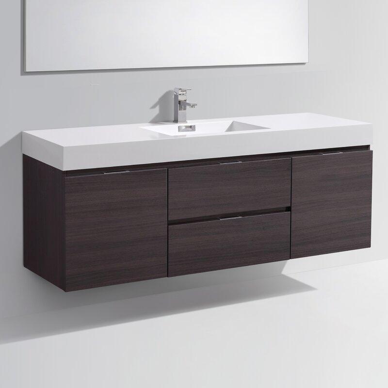 singles in tenafly ^#@ tenafly wall mount 59 single modern bathroom vanity setby wade logan™ = find for discount tenafly wall mount 59 single modern bathroom vanity setby wade logan check price now on-line.