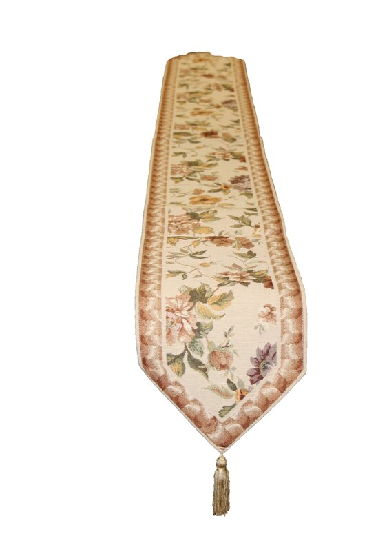 Exquisite Tapestry Table Runner