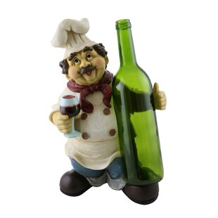 Luann Happy Chef 1 Bottle Tabletop Wine Rack
