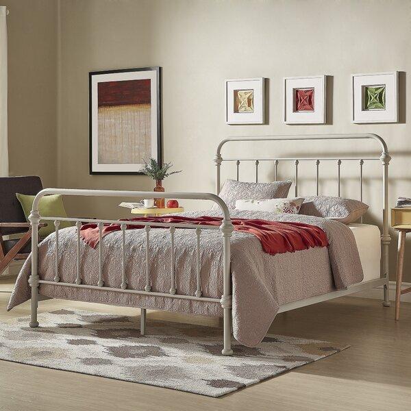 654673b46d1c64 Tribeca Home Iron Metal Bed | Wayfair