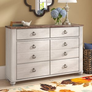 Naples 6 Drawer Dresser by Three Posts