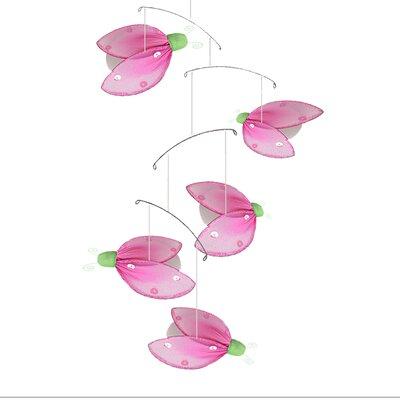 Ladybug Glitter Nylon Hanging Mobile Bugs-n-Blooms