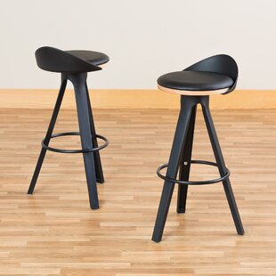 Heanor Low-Back Café 30 Bar Stool (Set of 2)
