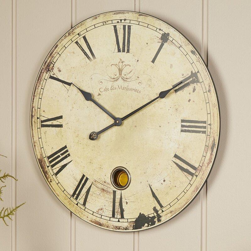 Birch Lane Oversized Wall Clock Amp Reviews Wayfair Ca