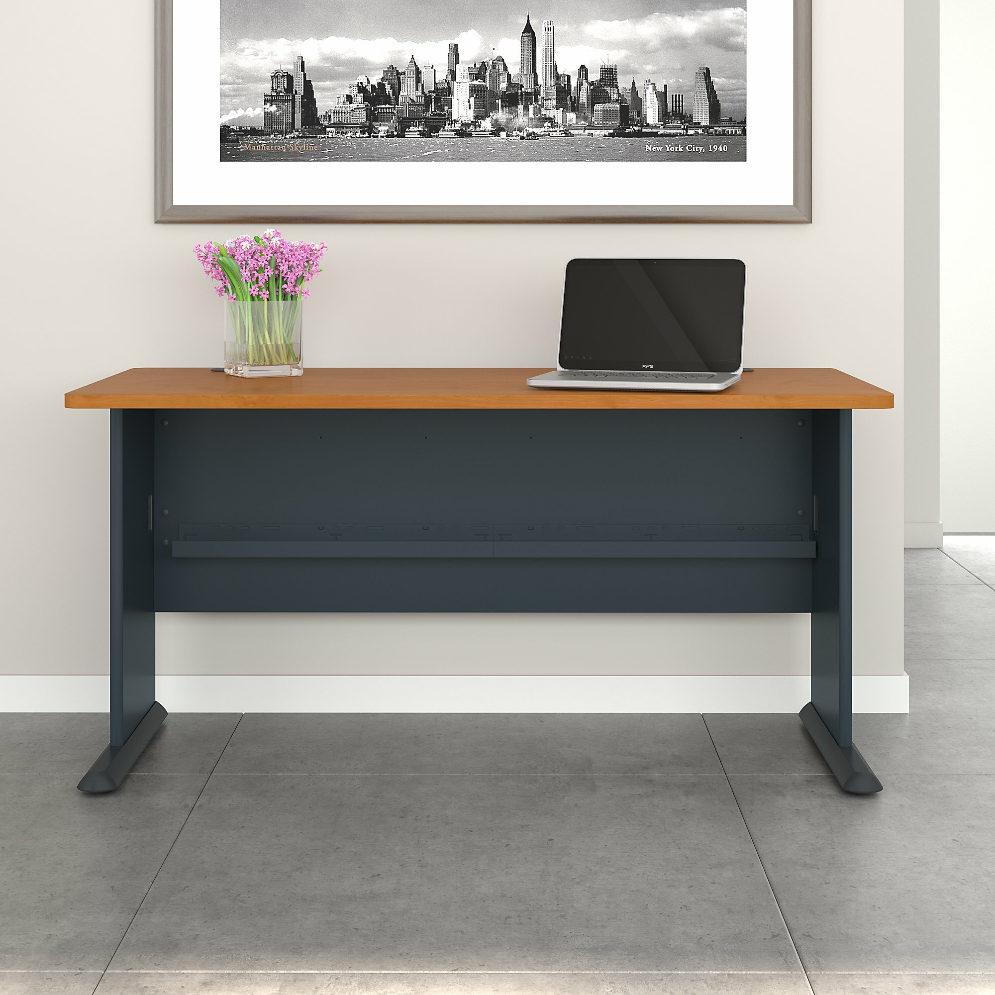 Series A Desk Shell. By Bush Business Furniture