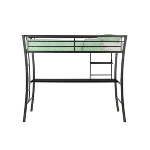 Dixie Twin Loft Bed with Desk by Viv + Rae