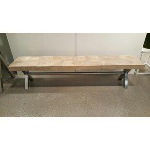Woodside Metal Bench