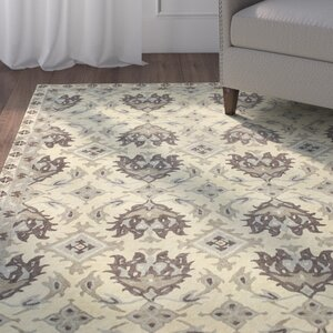 Gilmour Hand Tufted Gold Area Rug