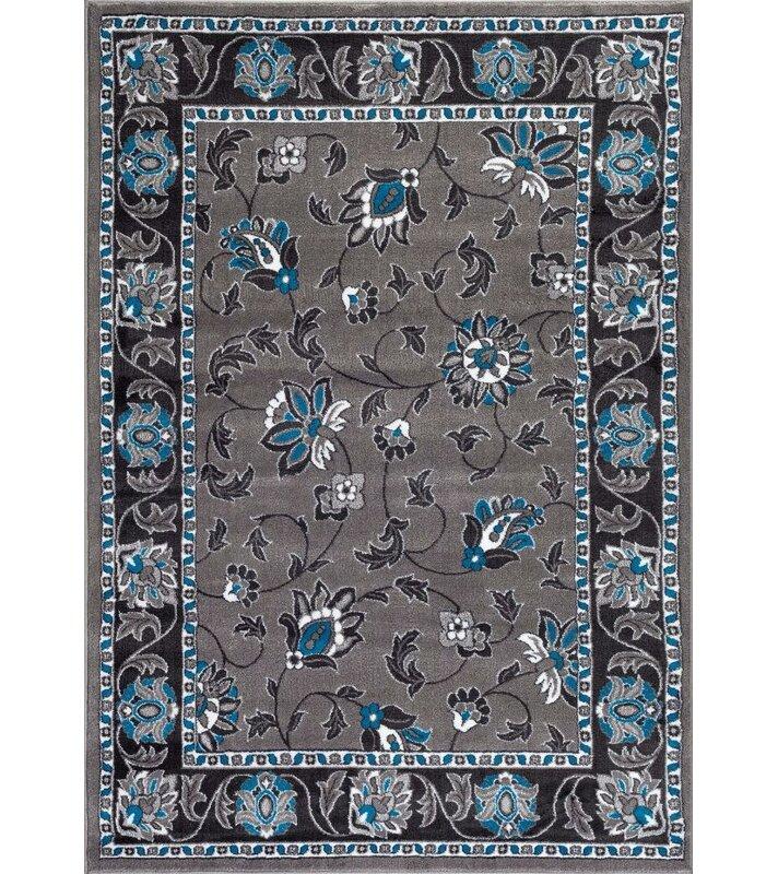 persian rugs turquoise gray area rug wayfair. Black Bedroom Furniture Sets. Home Design Ideas