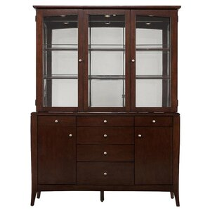 Holland Lighted China Cabinet by Darby Home Co