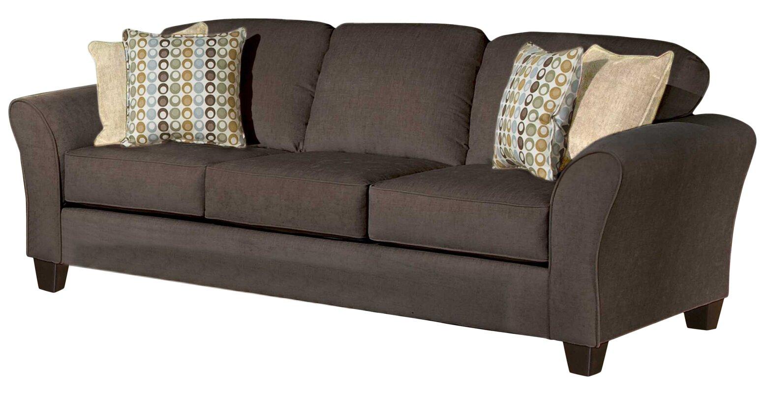 Three Posts Serta Upholstery Franklin Sofa Amp Reviews Wayfair