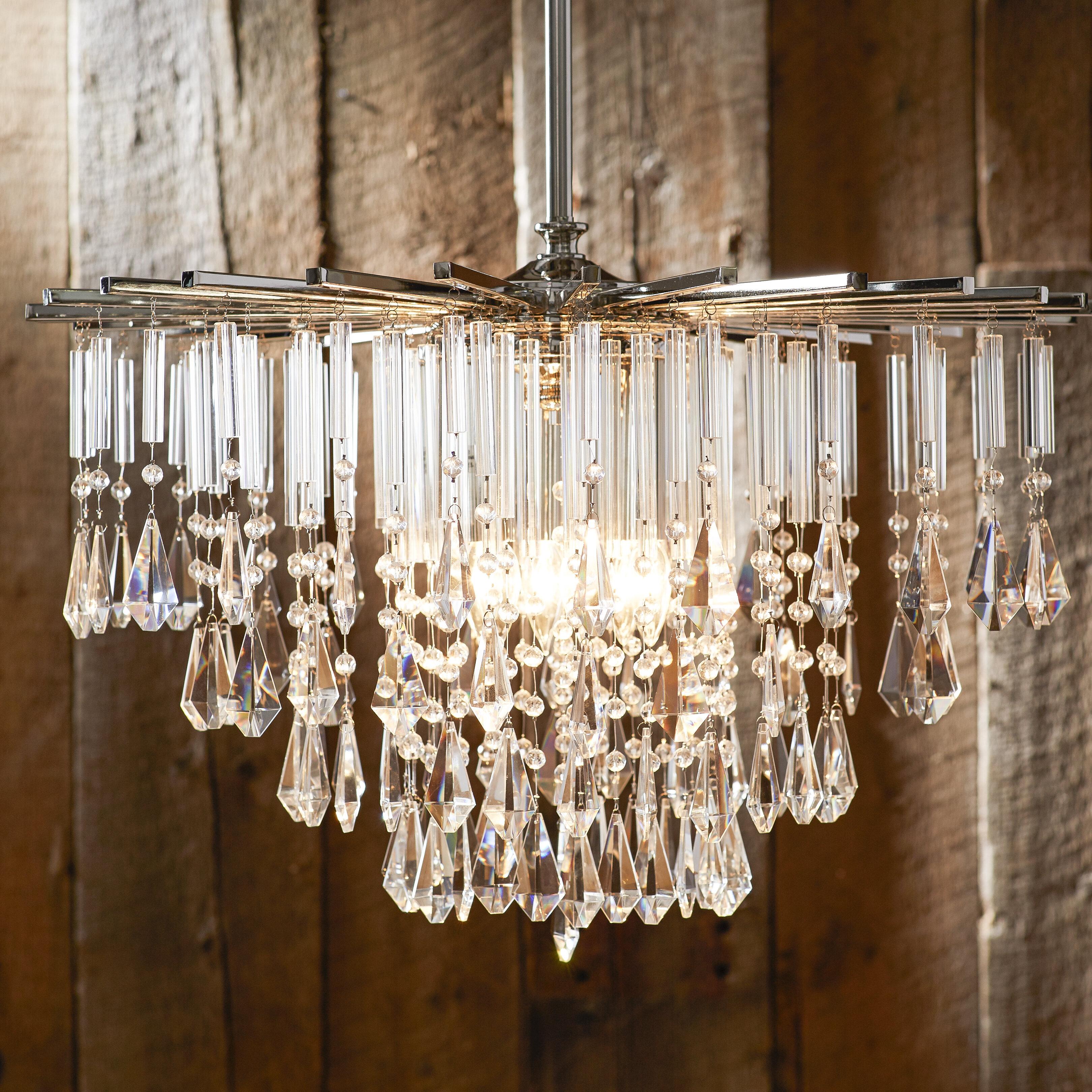 Donny osmond caldwell crystal chandelier wayfair
