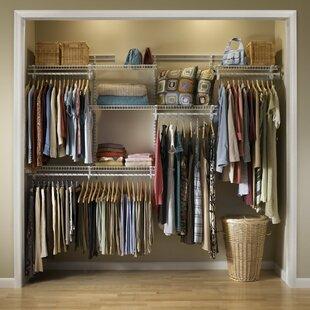 Clothes Rails Wardrobe Systems Wayfaircouk