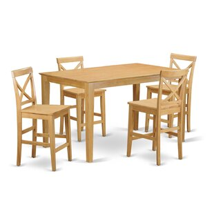 Smyrna 5 Piece Counter Height Dining Set