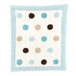 Mod Dots Collection Floor Rug