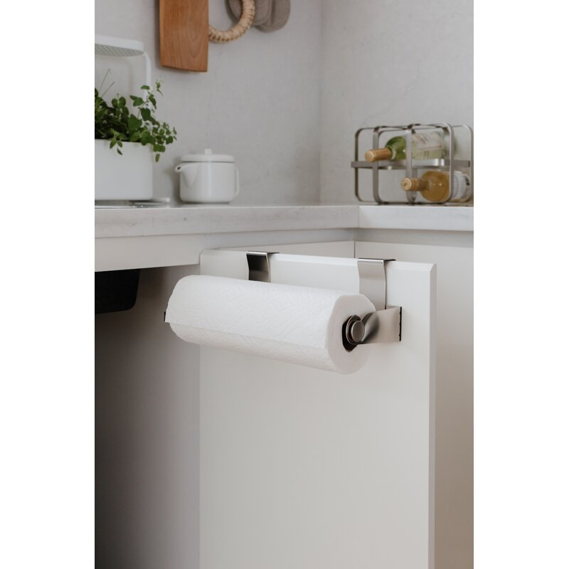 Home & Garden Adaptable Fashion Bathroom Paper Rack Under Cabinet Paper Rolls Towel Hanging Kitchen Towel Rack Toilet Roll Holder Racks Stainless Metal Home Storage & Organization