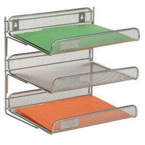 3 tier file folder sorter