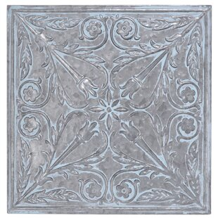 Ornate Glam Square Wall Decor