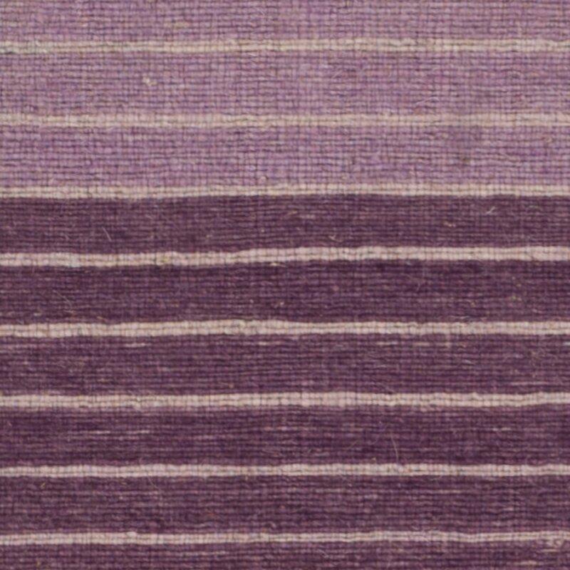 Jefferson Hand Woven Cotton Purple Area Rug