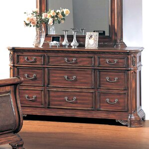 Tabitha 9 Drawer Dresser by Astoria Grand