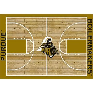 NCAA College Home Court Purdue Novelty Rug