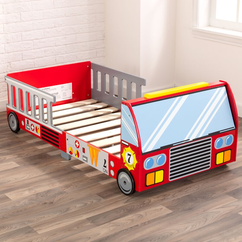 Ordinaire Firefighter Toddler Bed