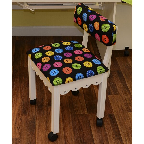Sewing Chairs With Wheels | Wayfair