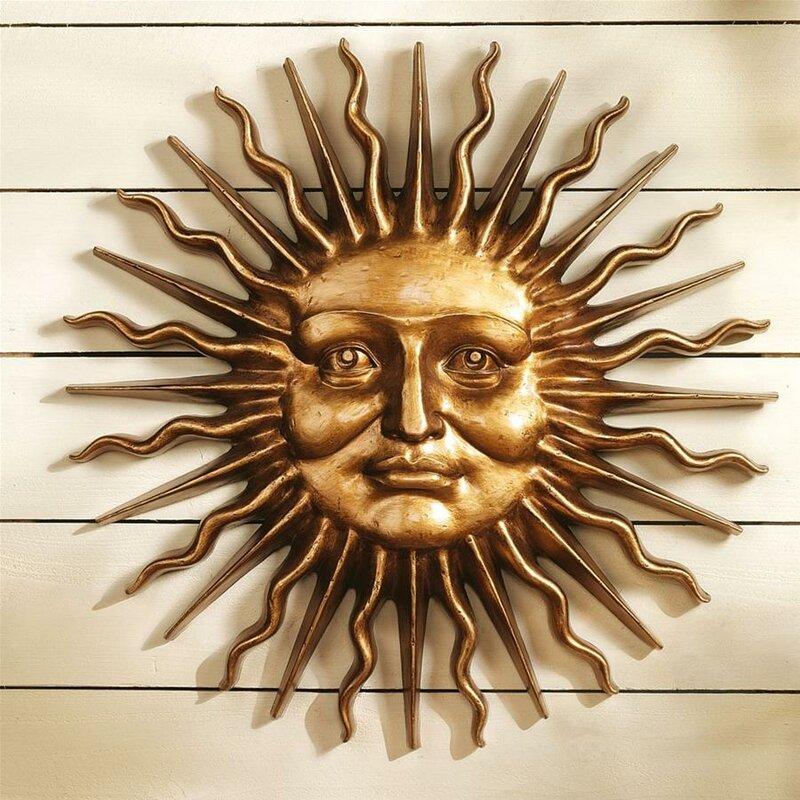 Charmant Sloane Greenman Sun Wall Décor