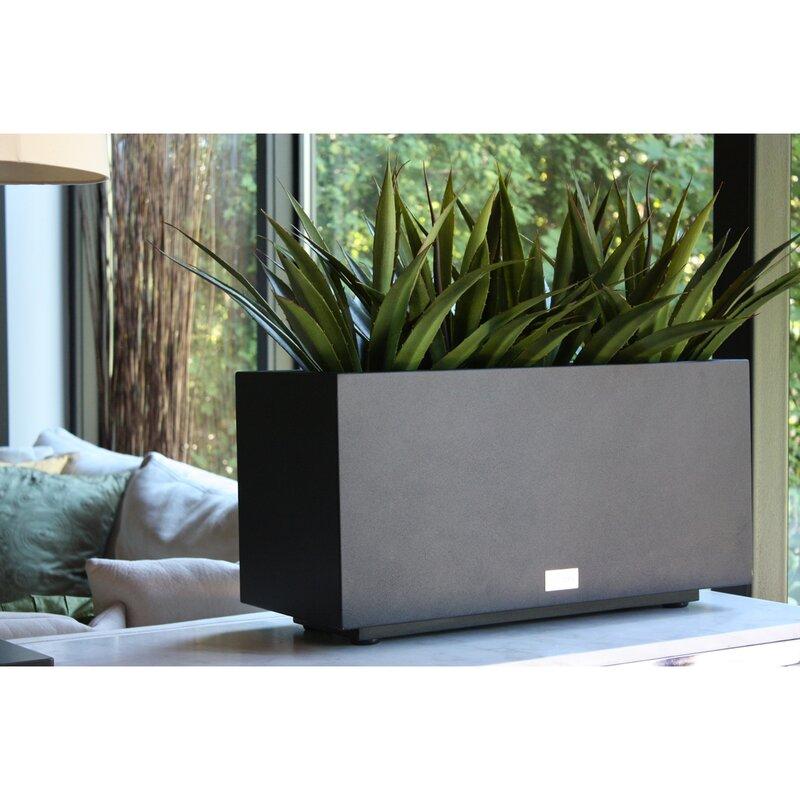 Veradek Metallic Series Long Galvanized Steel Planter Box