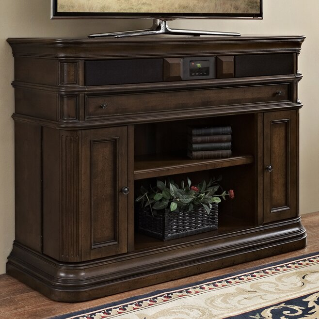 Lexington 48 Deluxe Tv Stand With Built In Surround Sound Joss Main