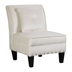 Raegan Slipper Chair by Ebern Designs