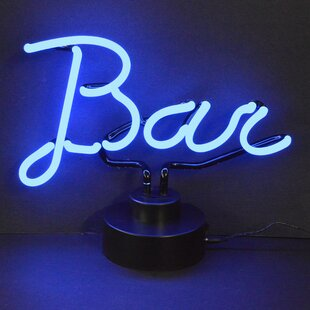Neon light signs wayfair business signs bar neon sign aloadofball Gallery