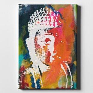 Large Buddha Canvas Wall Art Wayfair