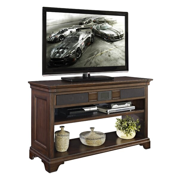 fairfax home collections belcourt 48 tv stand reviews. Black Bedroom Furniture Sets. Home Design Ideas