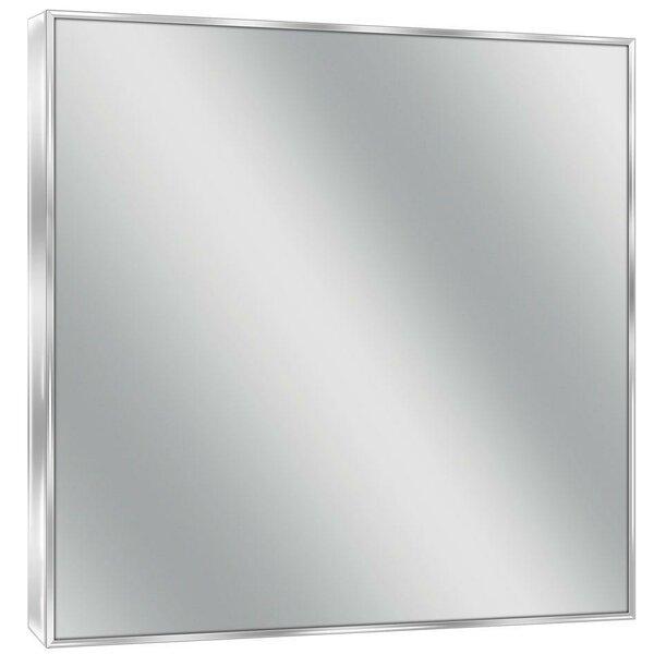 Bathroom Mirrors Kelowna symple stuff bathroom/vanity wall mirror & reviews | wayfair