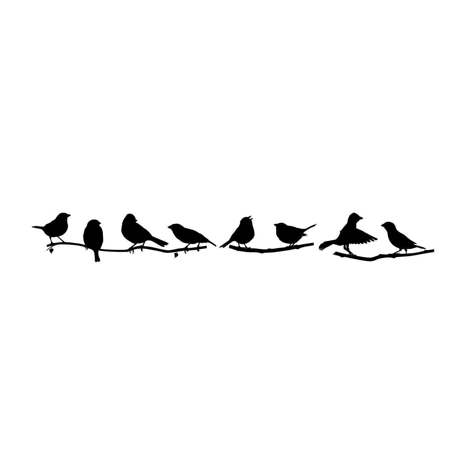 64200c2693c FiresideHome Sparrows Wall Decal   Reviews