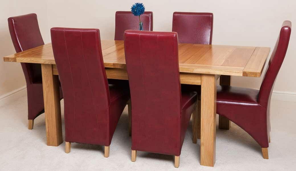 red barrel studio essgruppe smokehouse mit 6 st hlen bewertungen. Black Bedroom Furniture Sets. Home Design Ideas
