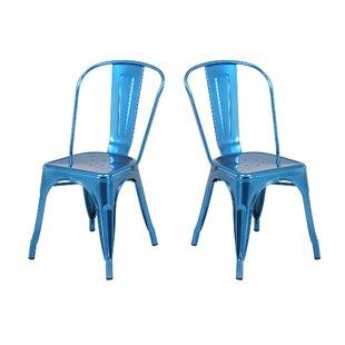 Elegant Rustic Metal Chairs | Wayfair