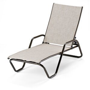 Gardenella Reclining Chaise Lounge (Set Of 2)