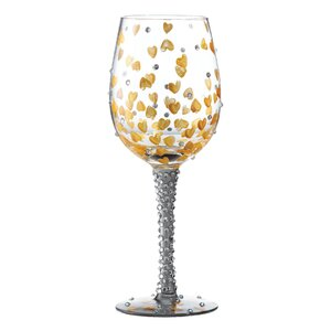 Heart of Gold All Purpose Wine Glass