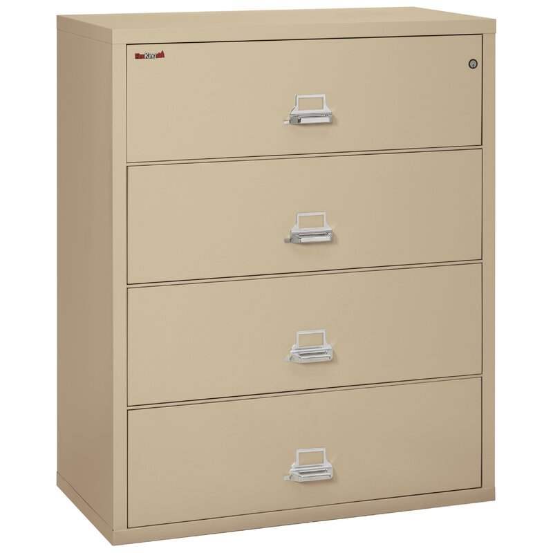 Charmant Fireproof 4 Drawer Vertical File Cabinet