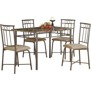 5 Piece Dining Set by Monarch Specialties..