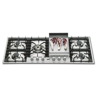 46 Gas Cooktop With 6 Burners
