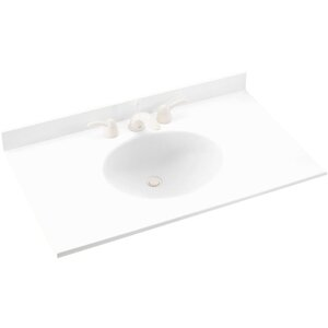Ellipse 61 Single Bathroom Vanity Top